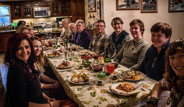 Thanksgiving Dinner: A Chance to Raise Our Consciousness